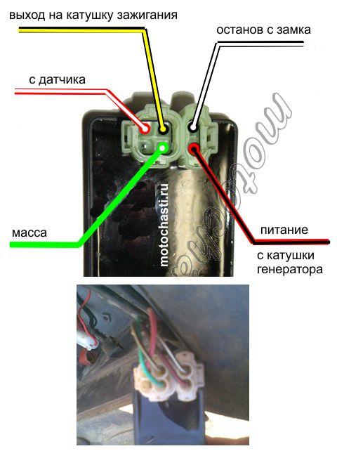 Подключение коммутатора 139QMB
