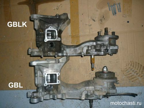 отличие двигателей gbl и gblk
