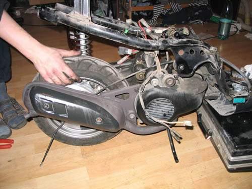 Ремонт скутеров своими руками 150 фото 767